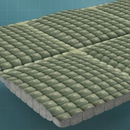 PP/PET multifilament double layers of geo-Fabric Formed Flexible Hinged Concrete Revetment Mattress for slope protection